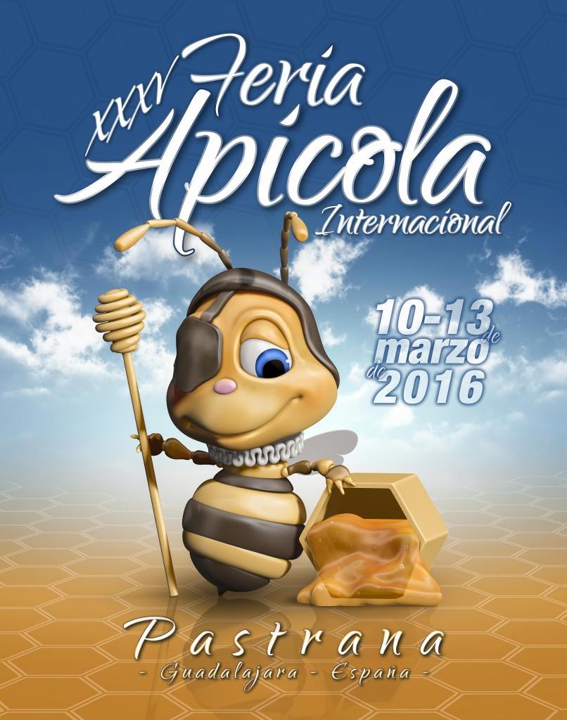 Cartel Anunciador Fería Apícola 2016